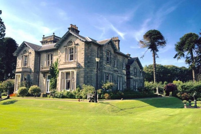 The 8-bedroom Eden Mansion.