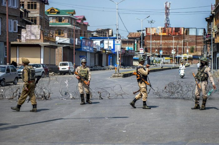 Giving details, the police said during the intervening night of Tuesday and Wednesday a joint search operation was launched with para-military forces and army following a credible intelligence input about the presence of terrorists in the Nowpora area of Tujjer in Sopore. (PTI File Photo)