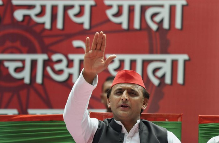 """""""We have waited too long for the Congress. How much longer should we wait? We will now consult the Gondwana Gantantra Party (GGP), with which we had an alliance, and the BSP for the coming assembly elections in Madhya Pradesh,"""" SP president Akhilesh Yadav"""