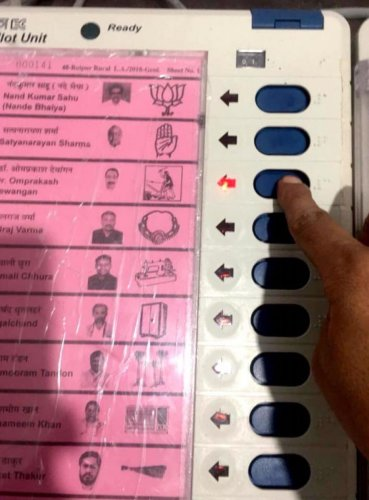 JCCJ candidate's selfie of him casting his vote.