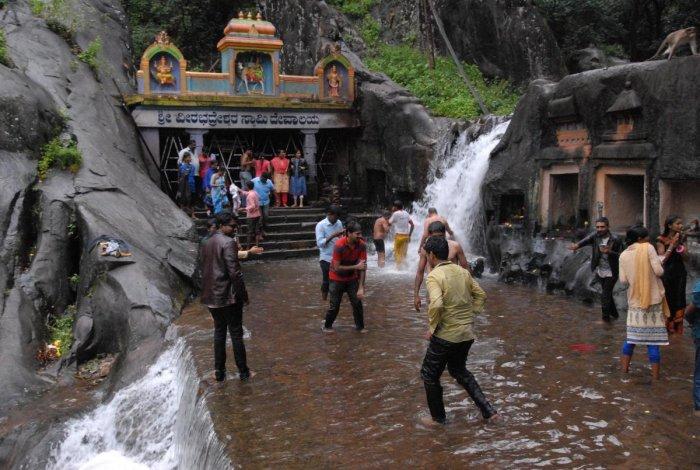 Kalhatti Falls in Chikkamagaluru district.