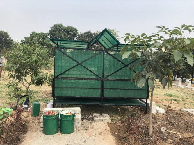 Located inside the BBMP's 'HSR Park', the 1.5-acre the SwachaGraha Kalika Kendra houses over 20 composting models, including a fully functional biogas unit.
