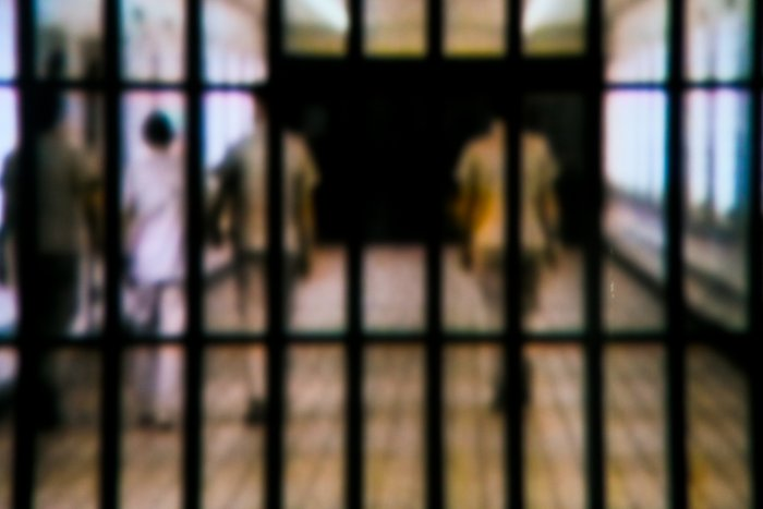 The matter came to light after a video showing thrashing of the inmates with the belt by the jail guards went viral on the social media on Tuesday.(Representative image)