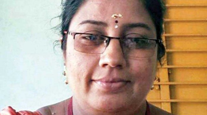"Nirmala Devi was arrested on April 16, a day after an audio clip in which she purportedly advised some girl students ""to adjust with some officials"" for higher marks and money went viral in the social media. Picture courtesy Twitter"