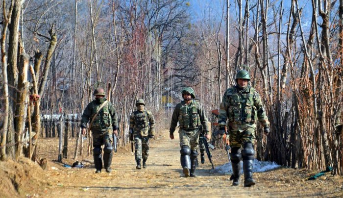 The soldier is a resident of Poonch in Jammu region and belongs to the 44-Rashtriya Rifles battalion. PTI file photo.