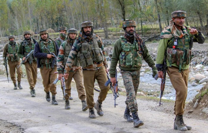 The army on Sunday asked people not to march towards 15 corps headquarters. PTI file photo
