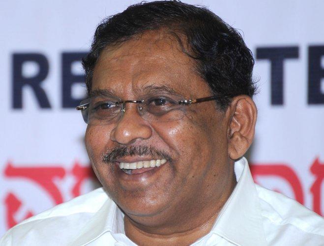 Deputy Chief Minister G Parameshwara. DH file photo