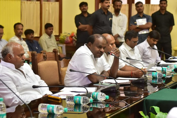 Chief Minister H D Kumaraswamy on Friday announced that a meeting of the coordination and monitoring committee of the coalition government will be held on December 5. (DH File Photo)