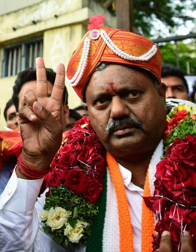 In picture: Congress legislator S T Somashekhar. DH Photo.