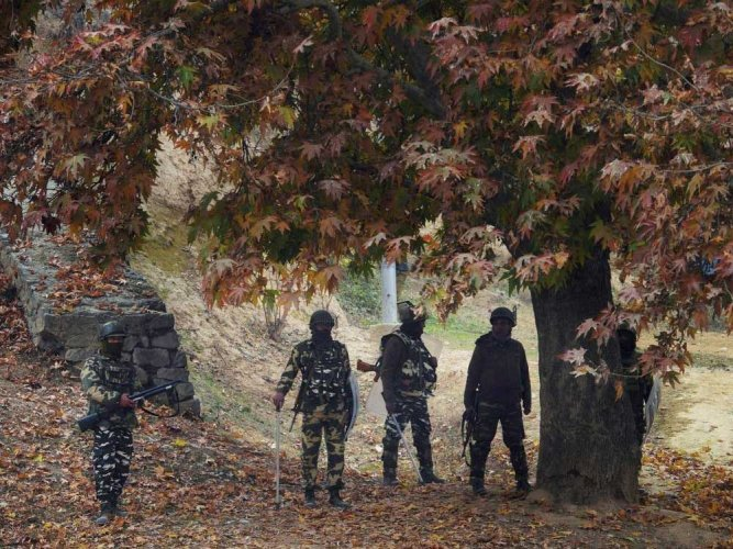 A police official confirmed that three militants were killed in the exchange of fire, whose identity is yet to be ascertained.