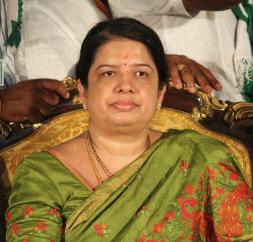 Anitha Kumaraswamy will take on BJP's L Chandrashekhar in Ramanagara.