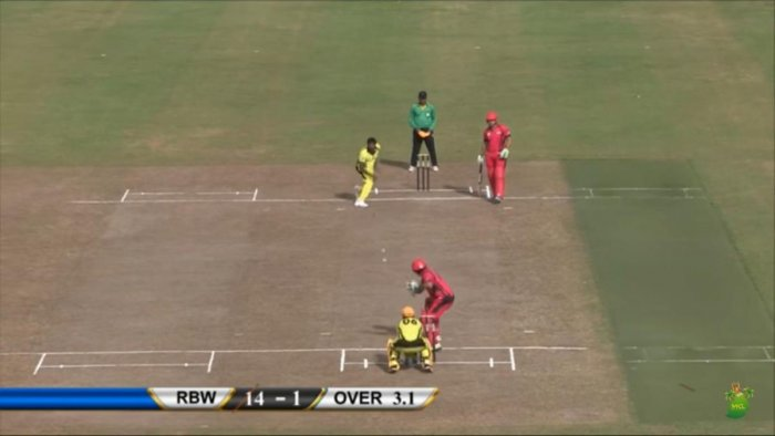 A slice of action from Mauritius T20 Cricket League.