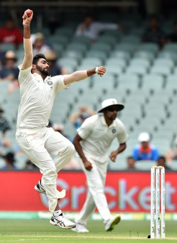 INTELLIGENT: Jasprit Bumrah is a rare Indian pacer who has managed to read away conditions rather swiftly and has found immediate success. AFP