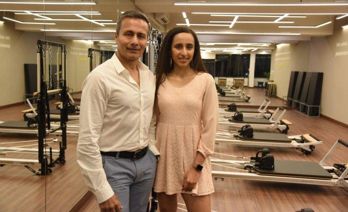 Samir and Namrata Purohit are co-founders of The Pilates Studio.