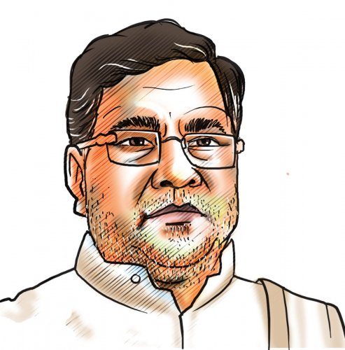 Former chief minister Siddaramaiah. DH image.