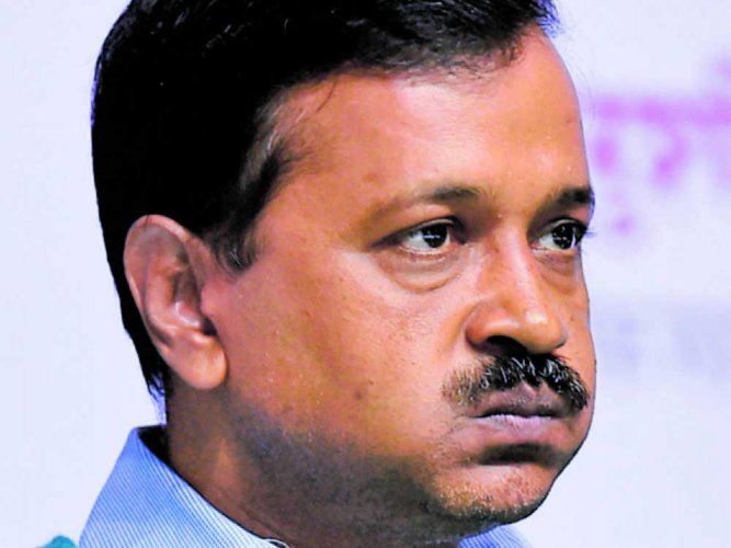 Arvind Kejriwal has been on a Dharna against the IAS officers' strike. PTI File photo.