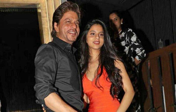 Shah Rukh Khan with his daughter Suhana (File Photo)