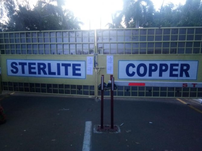 Sterlite Copper plant in Thoothukudi