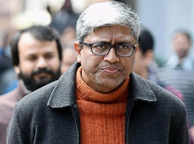 AAP leader Ashutosh. Image courtesy Twitter