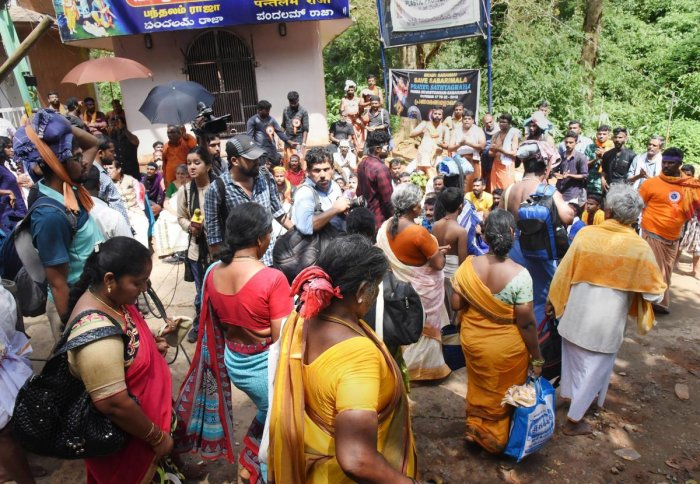 Sabarimala temple opened for the first time for women between the age of 10 and 50 on Wednesday, turning over the age-old custom of not admitting them based on a 28 September Supreme Court verdict. PTI Photo