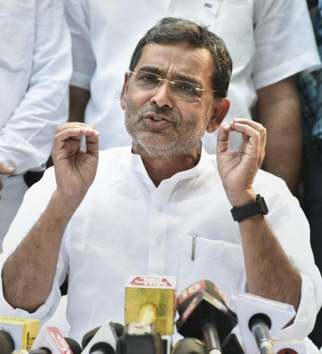 Rashtriya Lok Samta Party (RLSP) leader Upendra Kushwaha. PTI file Photo