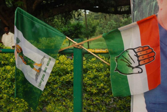 With the exception of the BJP making half-hearted attempts at luring the electorate, there was no sign of either the JD(S) or Congress workers or leaders on the ground involved in active campaigning. The coalition candidate - L R Shivaramegowda, had left constituency itself to Bengaluru, where he resides.