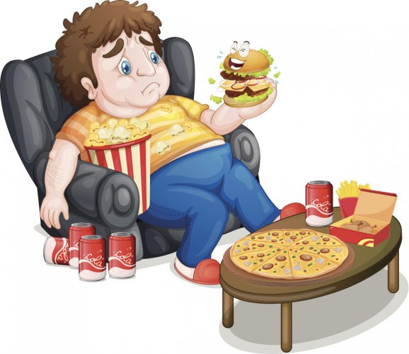 Indulging in a carb-heavy diet in the night is associated with weight gain.