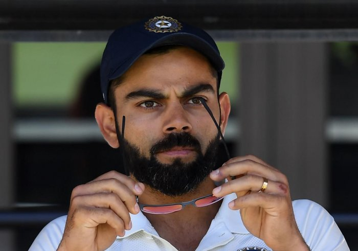 Skipper Virat Kohli on Tuesday said the thought of having a spinner for the second Test against Australia never crossed his mind as he believed India's four-pronged pace attack would do the job. AFP photo
