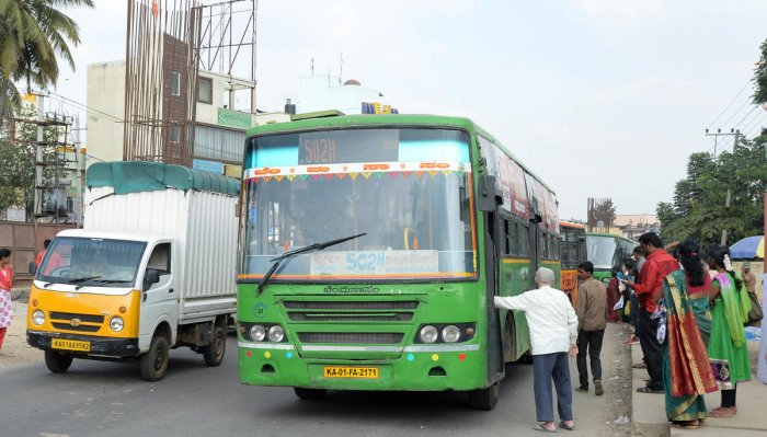 The Bangalore Metropolitan Transport Corporation (BMTC) sells about 54,000 daily passes every day and 75% of these are sold during the morning peak hours.