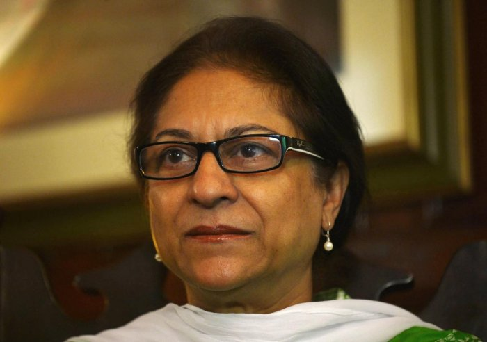 Pakistani human rights activist and Supreme Court lawyer Asma Jahangir. AFP File photo