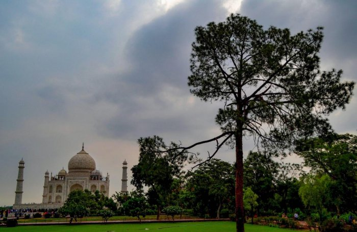 The Uttar Pradesh government today filed the first draft report of its vision document on protection and preservation of the Taj Mahal in the Supreme Court and said the entire precinct should be declared a no-plastic zone and all polluting industries in t