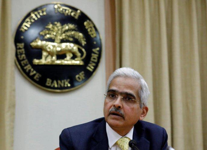 Shaktikanta Das, Reserve Bank of India (RBI) Governor. Reuters File Photo