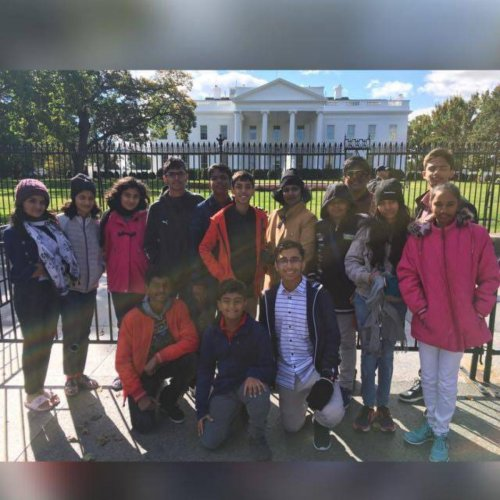 The students of Silicon City Academy of Secondary Education visited the Kennedy Space Centre and NASA during their recent trip to the US.