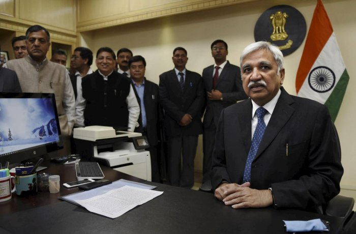 """Arora said he """"fully endorses"""" a recommendation of the Law Commission to extend constitutional protection, on the line of Chief Election Commissioner. to the two Election Commissioners. (PTI File Photo)"""