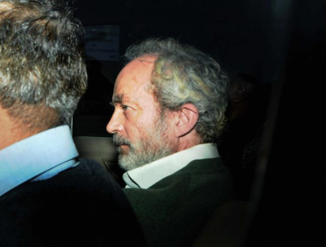 Christian James Michel, arrested in the Rs 3,600 crore VVIP chopper deal case, moved a Delhi court on Friday seeking to be lodged in a separate cell in Tihar Jail. PTI file photo