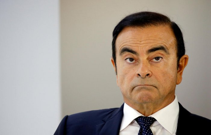 The case of the once-revered 64-year-old tycoon has gripped Japan and the business world since he was arrested as he stepped off his private jet at Tokyo's Haneda Airport on November 19. (Reuters File Photo)