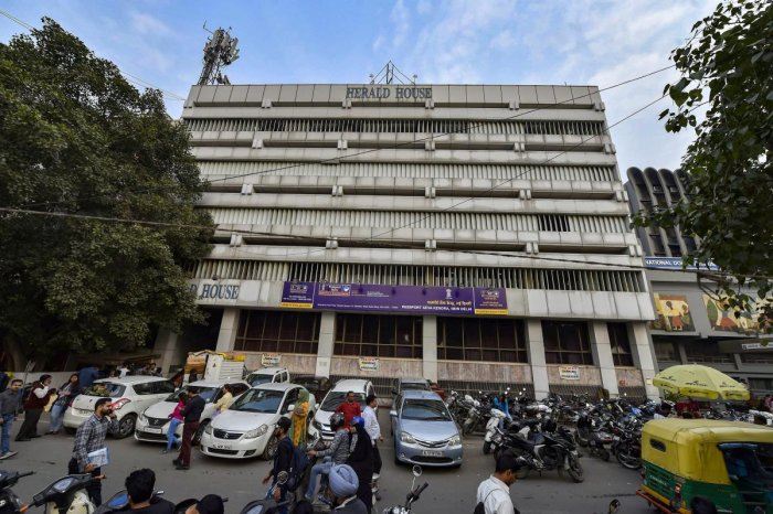 "The court found the orders issued by the Land and Development Office on October 30 as ""well-reasoned"" to cancel lease of Herald House and to vacate the building here. (PTI File Photo)"