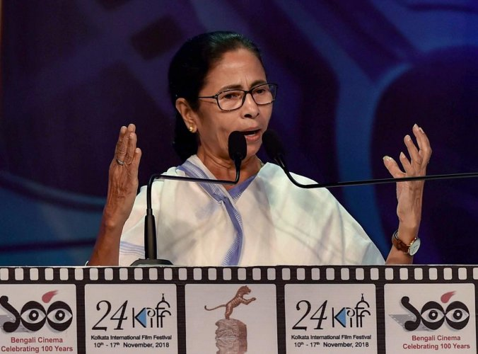 """Banerjee, who was addressing a function at St Xavier's College here, said the state has no dearth of talent and that pool should be """"put to proper use"""". (PTI File Photo)"""