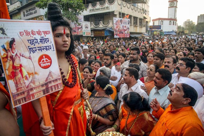 """Terming the debate as """"unwarranted"""" and """"pointless"""", the party said attempts were being made in the Uttar Pradesh Assembly to write a """"new Ramayana"""" by attaching caste labels to Lord Hanuman, and such a move should be thwarted. (PTI File Photo)"""