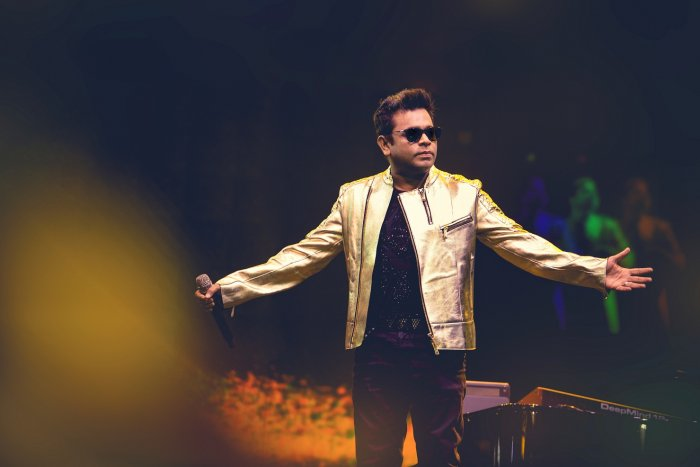 A R Rahman kickstarted his 'One Heart Tour' in Benglauru on Saturday.