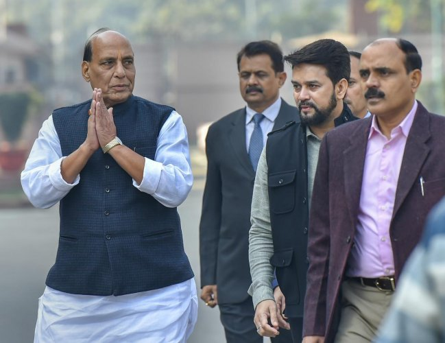Rebuffing allegations that intolerance was rising in the country, Union Home Minister Rajnath Singh on Sunday said there was no nation in the world as tolerant as India. PTI photo