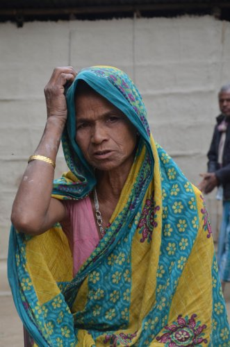 Saimon Nessa, wife of Jabbar Ali, who died in a detention camp in Tezpur on October 4.