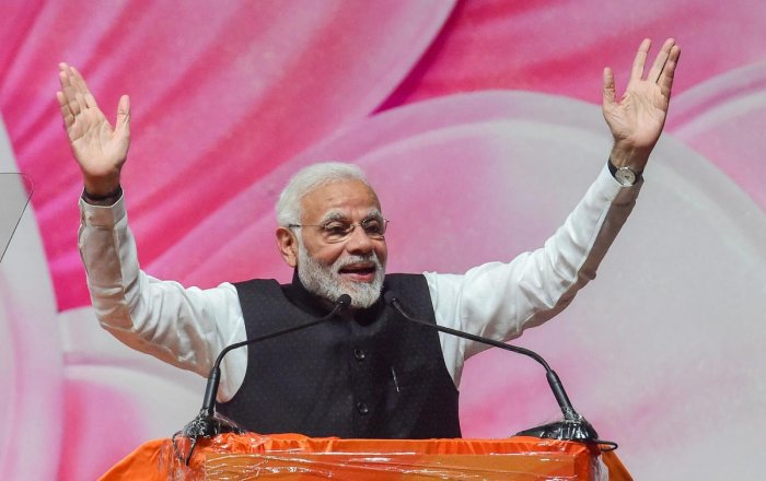 Prime Minister Narendra Modi has announced the institution of a new national honour for National Unity on the pattern of Padma Awards, an official statement said Sunday. PTI photo
