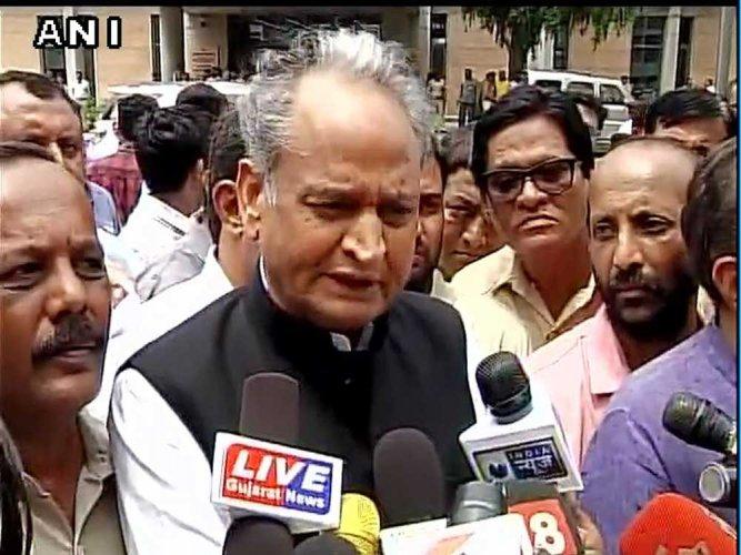 Rajasthan Chief Minister Ashok Gehlot. (ANI File Photo)