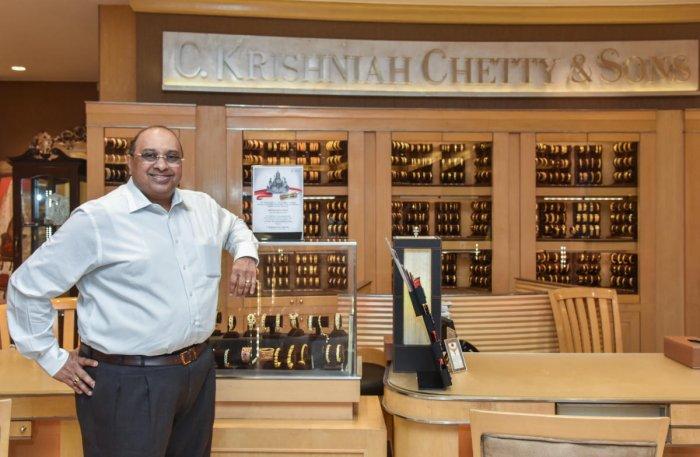 C Vinod Hayagriv, MD, C Krishniah Chetty and Sons. DH photo by S K Dinesh