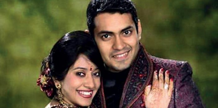 Ankit Bhupendra Singh Tugh and his wife Sanjana