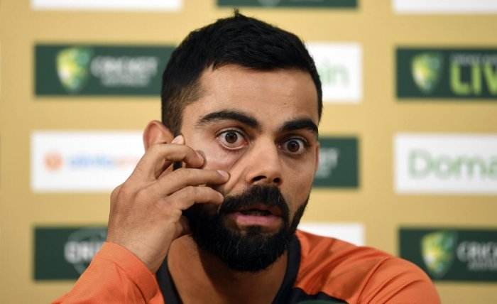 STRAIGHT TALK: Indian skipper Virat Kohli said he is not worried about how he is perceived by people. AP/PTI