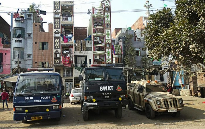 The arrests and busting of the racket came after searches in 17 locations in Delhi's Seelampur locality as well as in Uttar Pradesh's Lucknow, Amroha, Hapur districts. (PTI Photo)