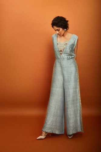 A successful pick in 2018 was the jumpsuit: fusion jumpsuits trended effortlessly, without the diaphanous look that anarkalis personified earlier