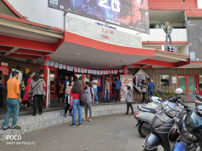 Since the news broke out, people are swarming the theatre even on weekdays.